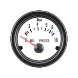 Oil Pressure Gauge Analog_