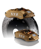 XYZ 303mm 4-Piston Big Brake Kit Volvo 850 / S70 / V70 / C70_