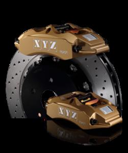 XYZ 303mm 4-Piston Big Brake Kit Volvo 850 / S70 / V70 / C70